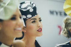 photography at the melbourne cup #Millinery
