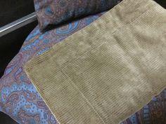 Authentic original Ralph Lauren khaki green corduroy pair Standard pillow shams by Hannahandhersisters on Etsy