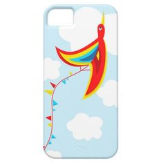 Fun Free Colorful #Kite #Bird #Case For #iPhone 5/5S $42.95 #iphonecase