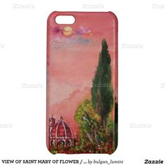 VIEW OF SAINT MARY OF FLOWER / FLORENCE IN SUNSET iPhone 5C COVERS