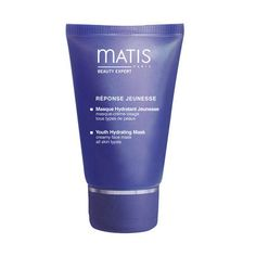 Matis Reponse Youth Hydrating Mask targets active ingredients optimize the skin's water reserves and plump up the dehydration lines. The skin is instantly quenched. Intensely moisturized, the skin feels comfortable again. Supple and refreshed, the epidermis feels like a baby's skin. The complexion is fresh and radiant.
