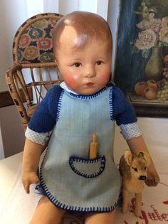 Niedliches Hampelchen von Käthe Kruse, Stoffkopf mit 3 Hinterkopfnähten | Antiquitäten & Kunst, Antikspielzeug, Puppen & Zubehör | eBay!