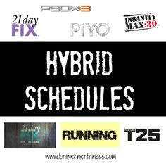 hybrid schedule photo With optimal health often comes clarity of thought. Click now to visit my blog for your free fitness solutions!