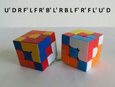 Patron Cubo Rubik 3x3 Figura N.2