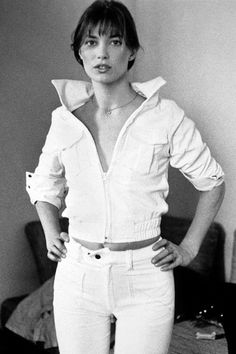 Jane Birkin, 1960.