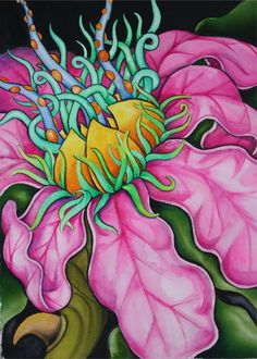 Fantasy flowers by BobCourtney on DeviantArt