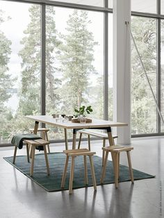 Home Decoration With Indoor Plants Product Ikea Inspiration, Ypperlig Ikea, Ikea And Hay, Ikea Dining Table, Interior Decorating, Interior Design, Scandinavian Interior, Dining Room Design, Interior Architecture