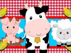 Kit Imprimible Candy Bar Animalitos De La Granja Golosinas – kit imprimibles Farm Animal Party, Farm Animal Birthday, Farm Birthday, 2nd Birthday Parties, Birthday Party Decorations, Farm Decorations, Birthday Ideas, Farm Themed Party, Barnyard Party