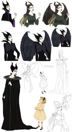 Thats Maleficent (o. IMPORTANT MESSAGE: There is a movie called 'Maleficent' telling you a story of the witch. Disney Pixar, Disney Villains, Disney And Dreamworks, Disney Animation, Disney Kunst, Arte Disney, Disney Fan Art, Disney And More, Disney Love