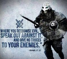The vikings had the right idea for dealing with evil. Now if only we could duplicate that with groups like ISIS.