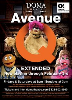 See Avenue Q in Hollywood until February 3! « Hollywood Hotel