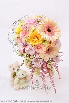 Wedding Flower Arrangements, Wedding Flowers, Spring Weddings, Bride Bouquets, My Flower, Flower Decorations, Wedding Things, Random Things, Floral Wreath
