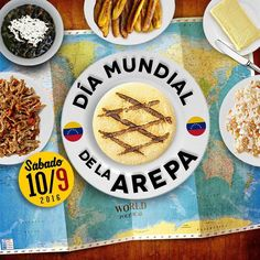 Este Sábado 10 de Septiembre se celebra el día Mundial de la Arepa y desde el departamento de diseño gráfico de Revista Venezolana quisimos hacerle este homenaje.  Un día chevere para compartir en familia en los locales venezolanos en toda España o realizar tu arepazo en casa. #venezolanosenespaña #venezolanosenmadrid #arepas #arepasvenezolanas #diamundialdelaarepa #reinapepiada #lacatira #lapelua #harinapan