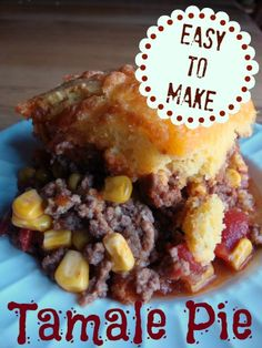 Quick and Easy Tamale Pie on MyRecipeMagic.com