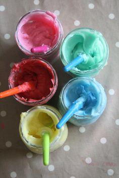 Homemade Edible Finger Paint Recipe - The Imagination Tree