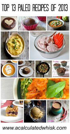 Top 13 Paleo Recipes of 2013 | www.acalculatedwhisk.com #paleo #glutenfree