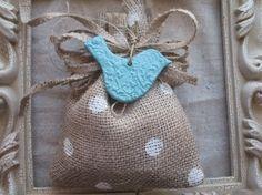 100 ötlet zsákvászonból Húsvétra - 2. rész - zsákok kis ajándékoknak ~ Re-Kreativ Blog
