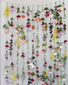 Flower Garland Wall Decor, Flower Garland Hanging, Flower Garland Wedding Flower Garland, Flower Garland Nursery, Hanging Flower Backdrop - Back door - Flower Garland Flower Garland Wedding, Rose Garland, Diy Garland, Wedding Flowers, Hanging Garland, Wild Flower Wedding, Paper Flower Garlands, Wedding Backdrops, Hanging Flower Wall