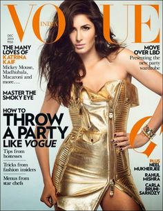 Katrina Kaif sizzles on the cover of Vogue