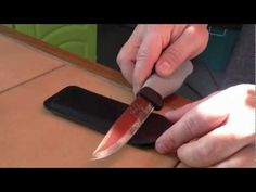 ▶ comment aiguiser son couteau, Fallkniven DC4 - YouTube
