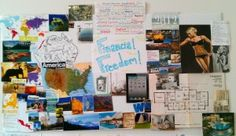 How To Make a Vision Board That Works - Guide & Vision Board Ideas – Clever Fox® Making A Vision Board, Motivation Wall, Art Therapy Activities, Famous People, Freedom, It Works, Gallery Wall, Boards, Organization