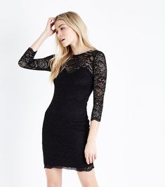 Discover the latest trends at New Look. Latest Fashion For Women, New Dress, New Look, Latest Trends, Bodycon Dress, Clothes For Women, Lace, Shopping, Dresses