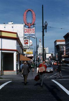 Granville Street  1970ish Al Ingram,   City of Vancouver | by vancouverbyte