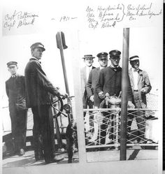 1911 Photo of Capt. Paterson and the principals of the Fire Island Beach Development Corp. Island Beach, Long Island, Fire Island, Summer Days, Memories, Memoirs, Souvenirs, Remember This