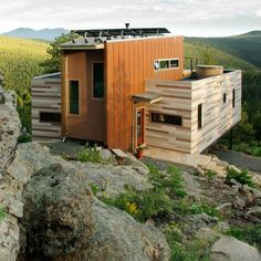 Shipping Container House by Studio H:T.