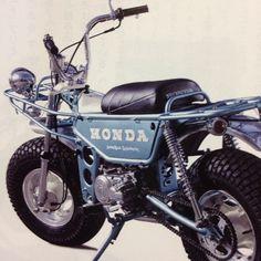 Old Honda Mini-Bike