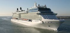 """The featured """"X"""" on the funnel is a Greek letter signifying the Chandris connection. Read more about Celebrity Cruises! Romantic Resorts, Romantic Vacations, Romantic Travel, Cruise Travel, Cruise Vacation, Celebrity Eclipse, Best Cruise Ships, Bahamas Cruise, Alaskan Cruise"""