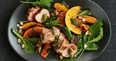 This sensational gluten-free dinner combines lean pork fillets, with sweet pumpkin and flavoursome chimichurri.