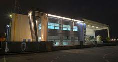 Bellissimi i nuovi uffici Syncro con l'illuminazione notturna!