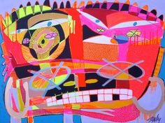 Iwas Descent to Posession by @stuckyart #painting #urbanart