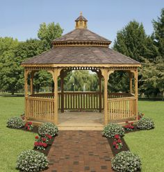North Country Sheds: Wood Octagonal Gazebos