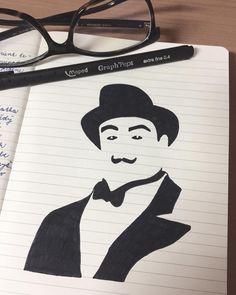 "Páči sa mi to: 41, komentáre: 8 – Dominika Imrichová (@ms_domca) na Instagrame: """"Use your little grey cells mon ami."" ~ Hercules Poirot  #herculespoirot #poirot #agathachristie…"" Hercule Poirot, My Journal, Agatha Christie, Hercules, Grey, Amigos, Gray"