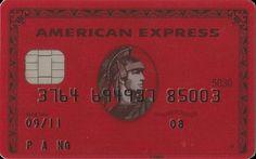 AMERICAN EXPRESS - RED (American Express, United Kingdom) Col:GB-AE-0007