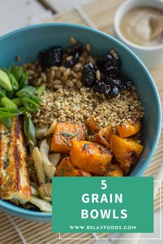 These hearty grain bowls are chock full of delicious, nutritious veggies and proteins. Want to make life in the kitchen easier? Shop this recipe online! Add your groceries to your cart with one click and schedule your pickup or delivery—that's it!