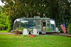 1968 airstream trade wind with lab polished for sale