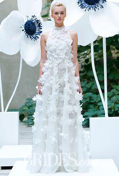 Brides: Lela Rose Wedding Dresses - Fall 2016 - Bridal Runway Shows - Brides.com