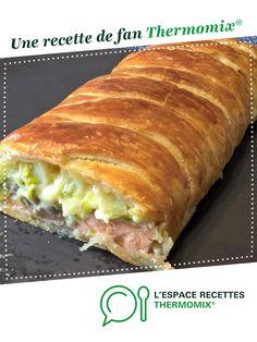 Feuilleté crousti-crémeux saumon/poireaux par Mieumieu. Une recette de fan à retrouver dans la catégorie Tartes et tourtes salées, pizzas sur www.espace-recettes.fr, de Thermomix®.