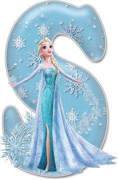 Ideas For Cupcakes Fondant Disney Frozen Birthday Frozen Cupcake Toppers, Frozen Cupcakes, Fun Cupcakes, Birthday Cupcakes, Frozen Birthday Party, Frozen Party, Elsa Frozen, Frozen Font, Scrapbook Letters
