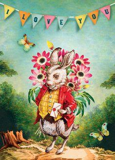 Cartolina Card - I Love You