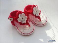 Zapatitos tejidos a crochet | Tejidos a crochet