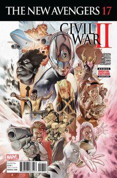 New Avengers Vol. 4 # 17 by Julian Totino Tedesco Marvel Comics, Marvel Now, Marvel Comic Universe, Comics Universe, The Avengers, Avengers 2015, Comic Book Artists, Comic Books Art, Comic Art