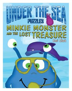 Pam's Book Reviews: Minkie Monster and the Lost Treasure by Ceri Clark...