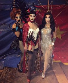 So a clown, a shedevil, and Cher walk into a circus tent 🎪 and shedevil keeps her redeye because she is evil 💀😝 . Drag Queen Costumes, Drag Queen Outfits, Drag Queens, Trajes Drag Queen, Kameron Michaels, Rupaul Drag Queen, Violet Chachki, Queen Aesthetic, Drag Queen Makeup