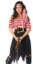 Fun World Women's Pirate Maiden Costume  Halloween Galaxy