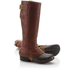 Slimpack Riding Boot by Sorel | Waterproof with micro fleece lining. Perfect for what may be a cold and snowy winter