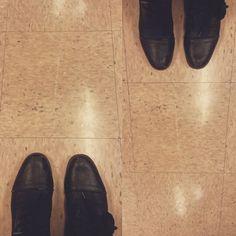 #ihavethisthingwithfloors #vintagelinoleum #terrazzo #linolium #doctorsoffice #peachy #blackboots #tileaddiction #fromwhereisit #fromwhereistand #tiles by susanjoydesigns